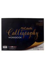Mont Marte Mont Marte Calligraphy Workbook 22.9x30.5cm 50 sheet