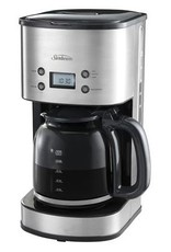 Drip Filter SS 12 Cup Electronic Coffee Maker