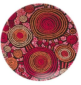 Warlukurlangu Artists Melamine Plates Set of 4