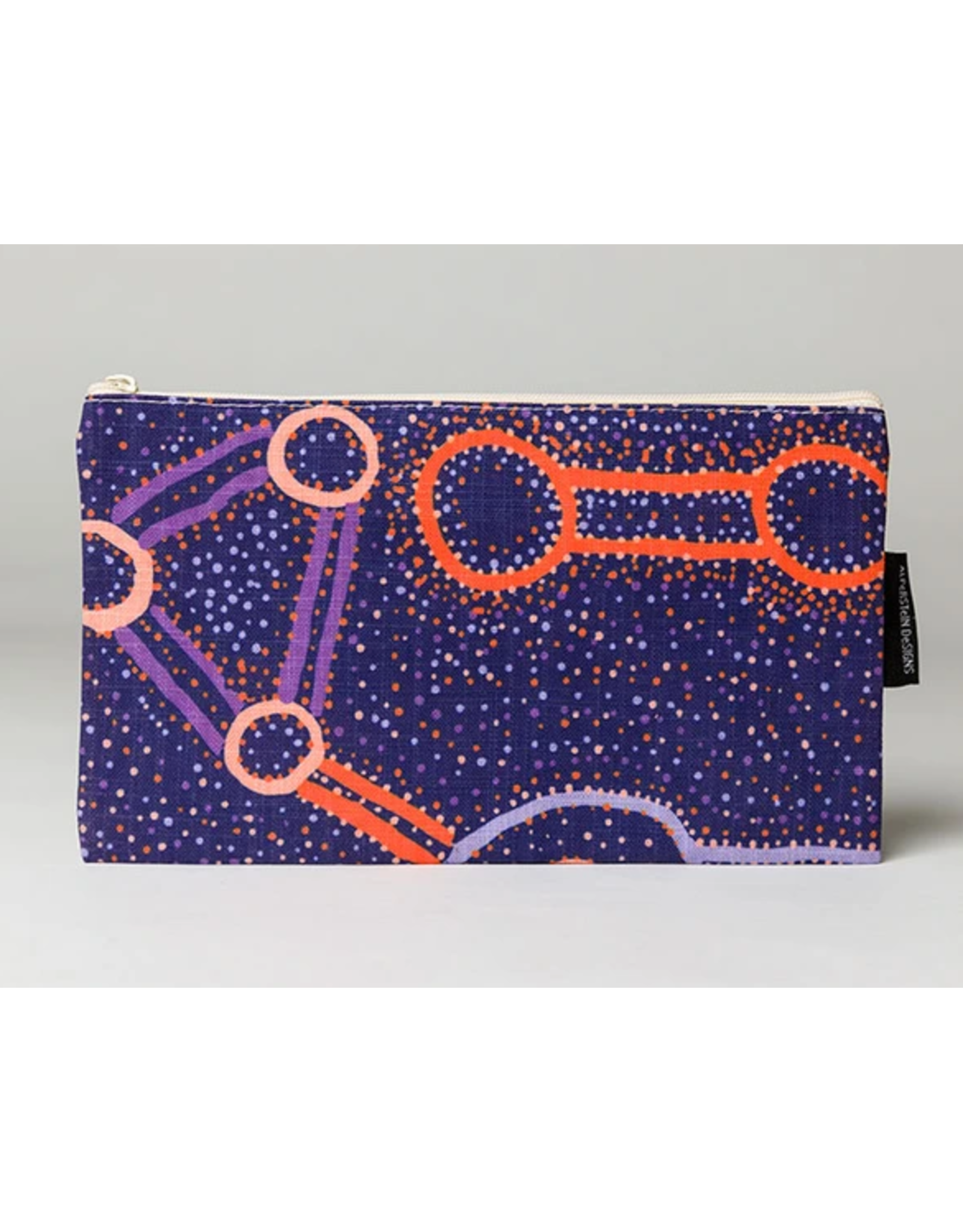 Warlukurlangu Artists Cotton Zip Purse