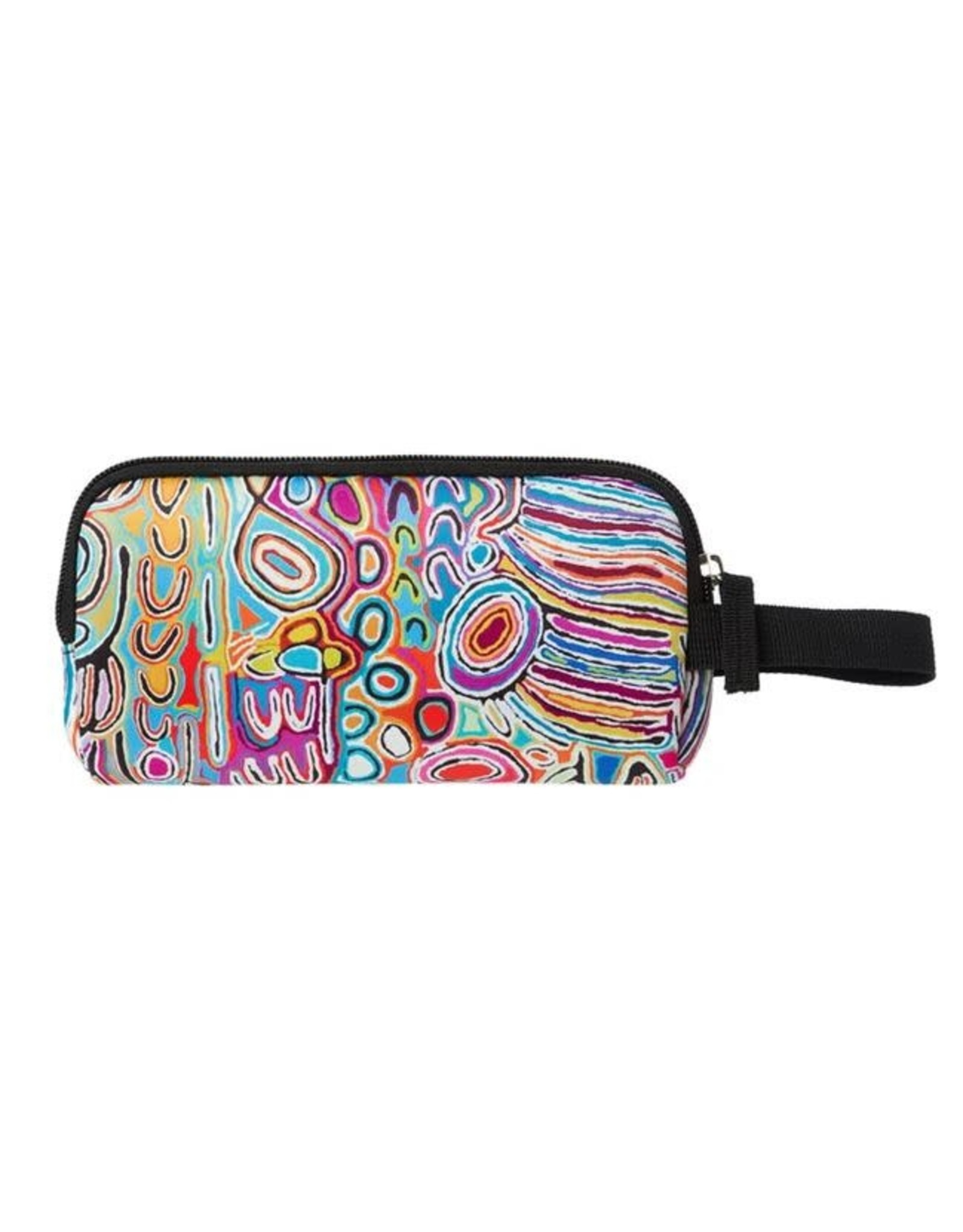 Warlukurlangu Artists Neoprene Zip Purse