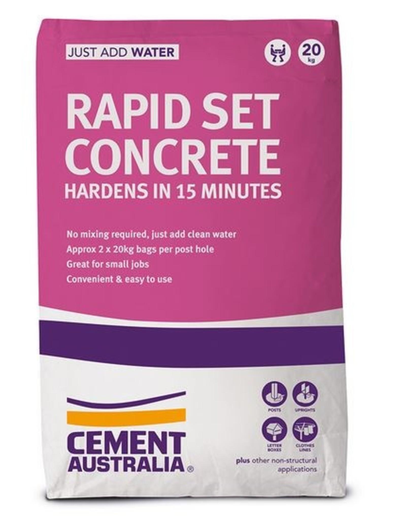 Cement Rapid Set