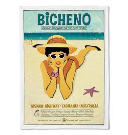 Bicheno Tea Towel Holiday Hideaway