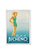 Bicheno Tea Towel Relax