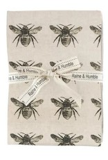 Raine & Humble Honey Bee Tea Towel Qty 2