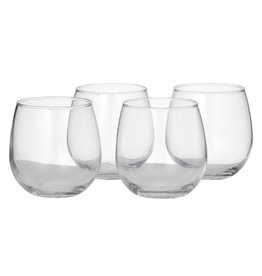 Libby Vina Stemless Red Wine S/4