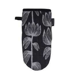 Finlayson Alma Jacquard Oven Glove Black