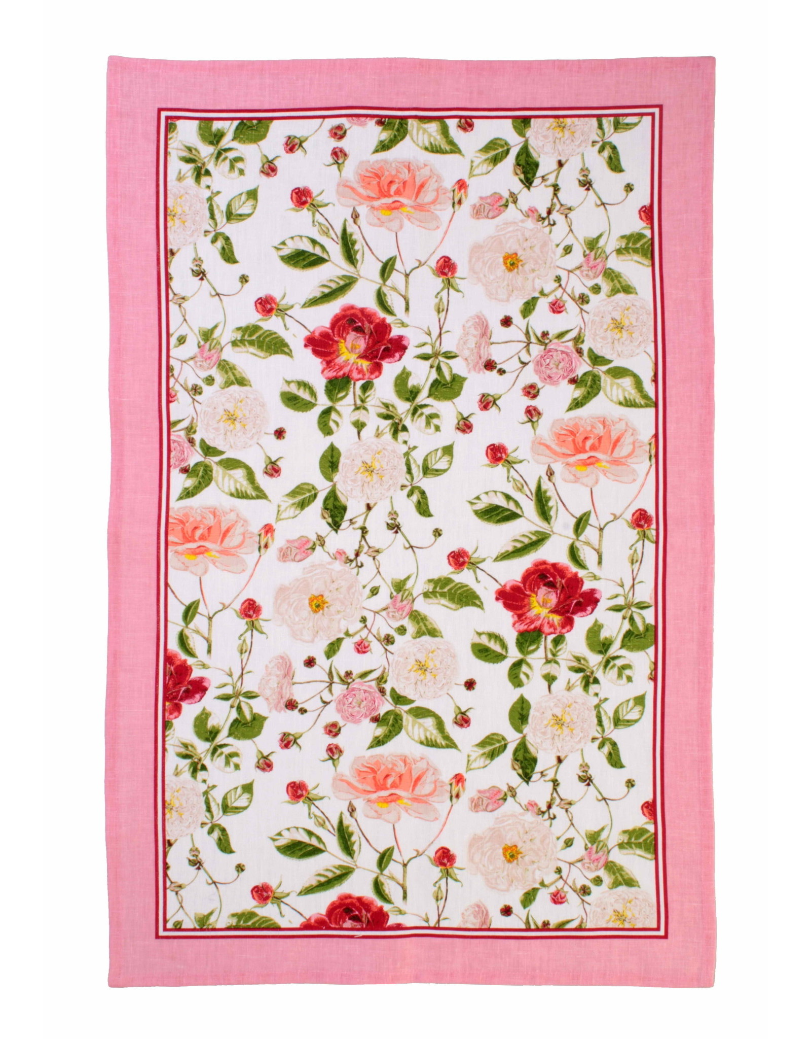 Ulster Weavers Royal Horticultural Society Rose Linen Tea Towel