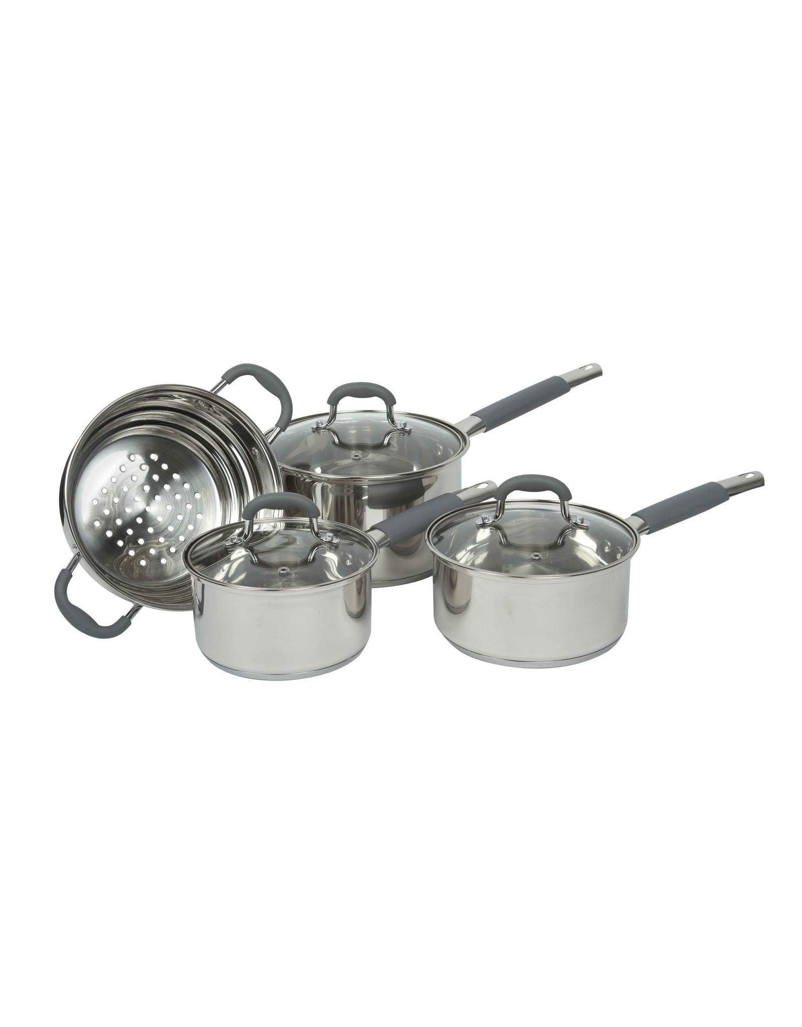 Davis & Waddell Argon Saucepan Cookware Set/4 SS