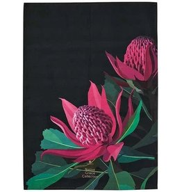 Ashdene Native Grace Waratah Kitchen Towel