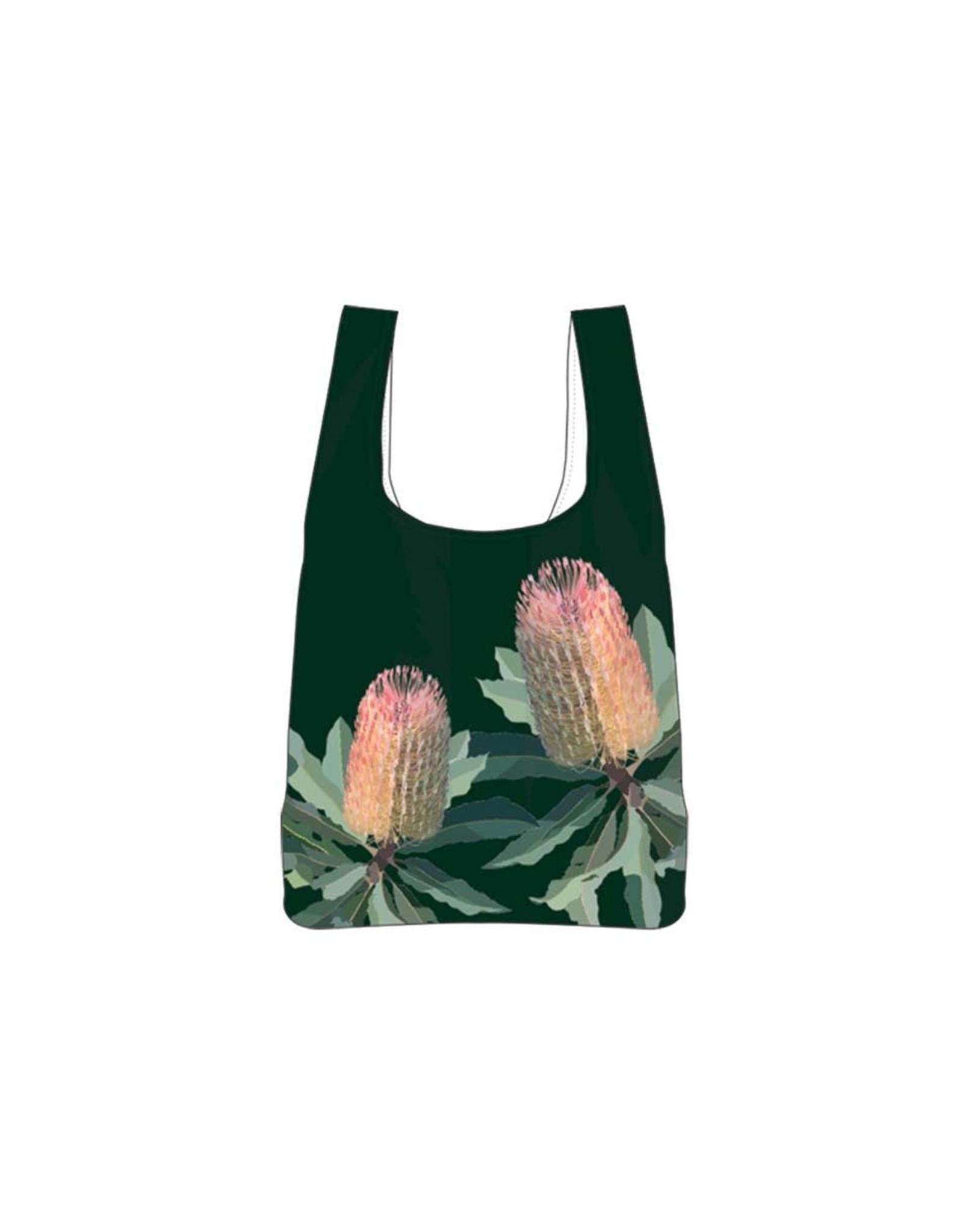 Ashdene Native Grace Banksia RPET Shopping Bag