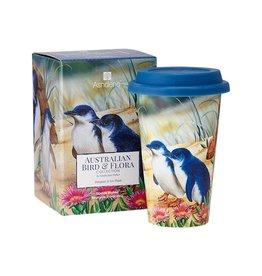 Aus Bird & Flora Penguin & Ice Plant Travel Mug