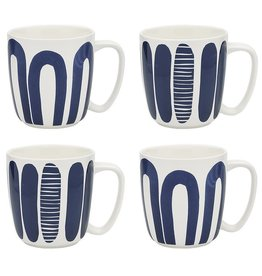 Ecology Maya Set 4 Mugs 300ml