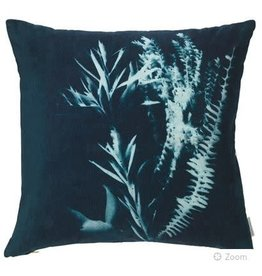 Ecology Sunprint Velvet Cushion