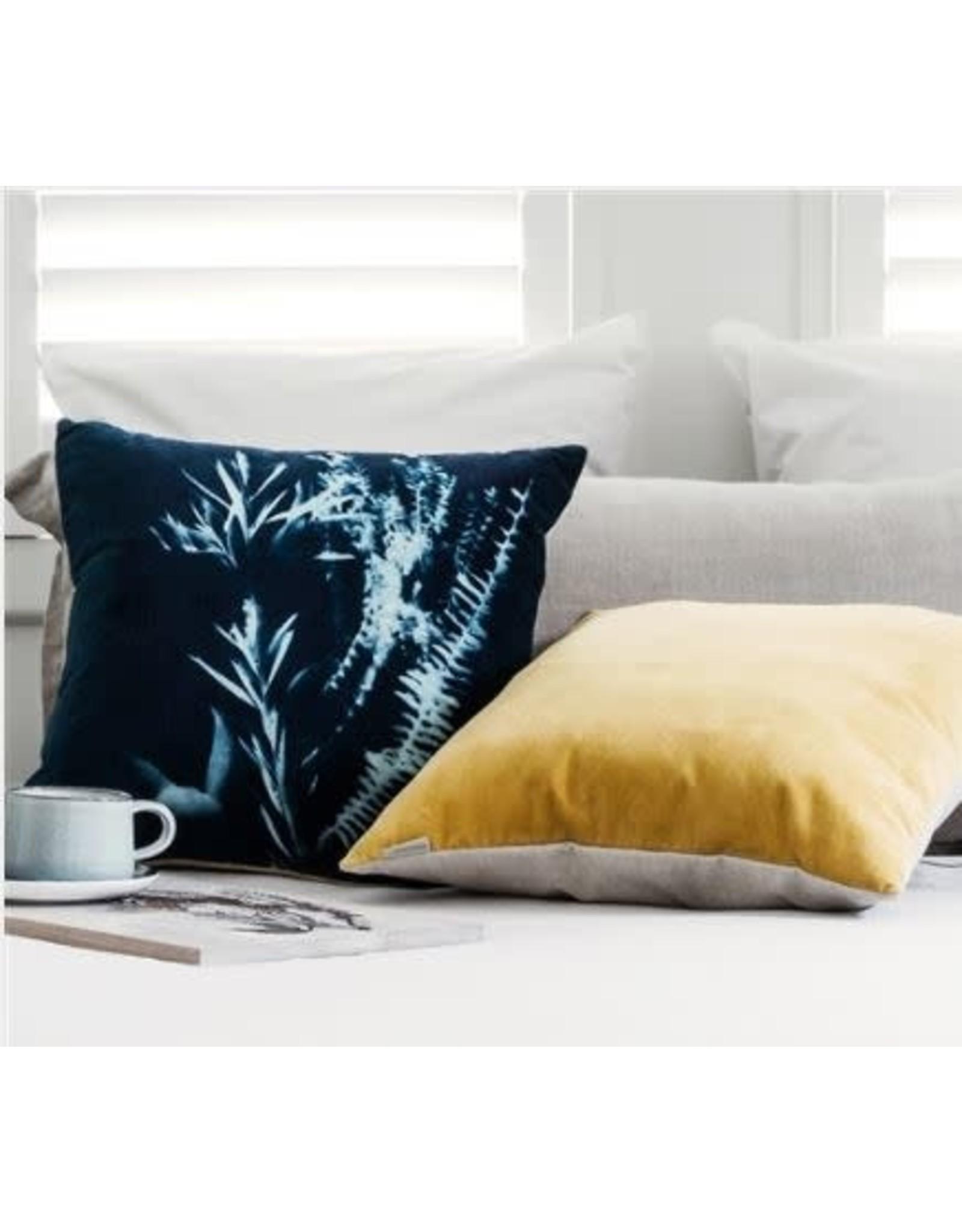 Ecology Sunprint Velvet Cushion