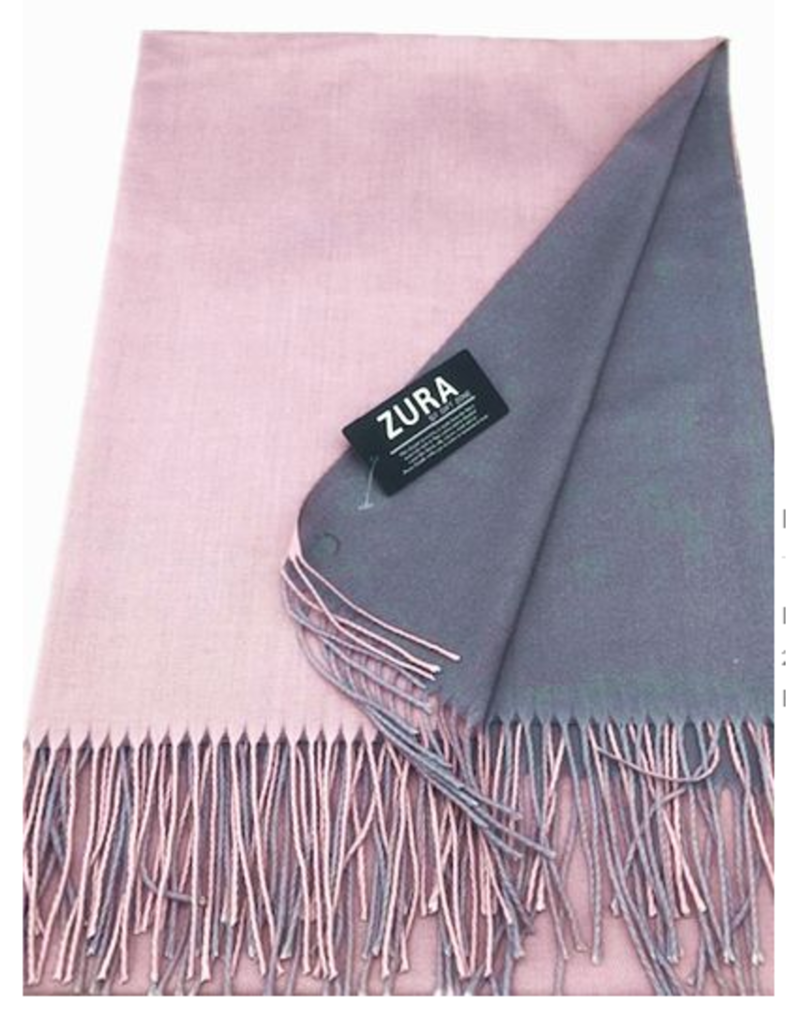 Lightweight Reversible Double Sided Cashmere  Scarf