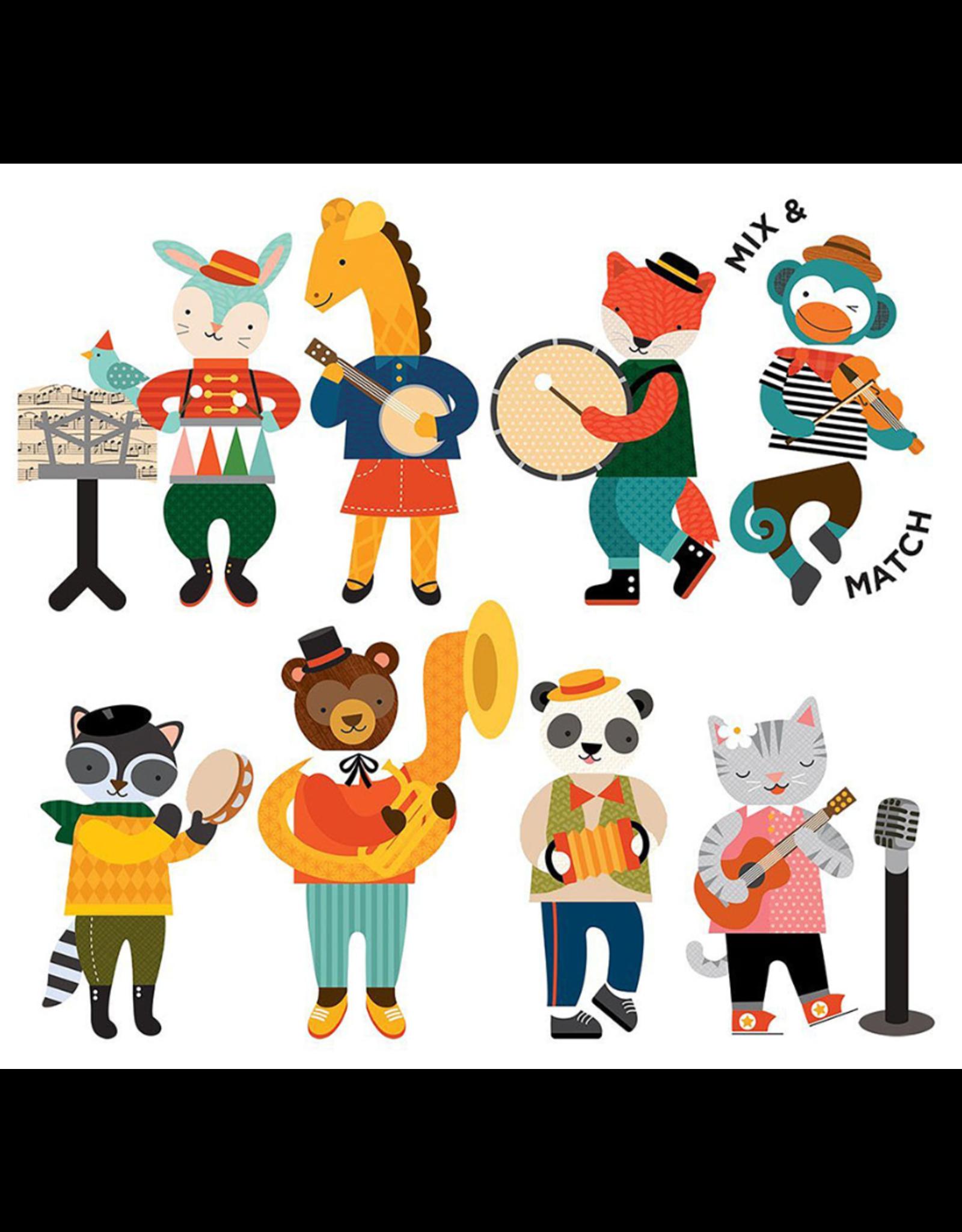 Magnetic Play Set - Animal Band