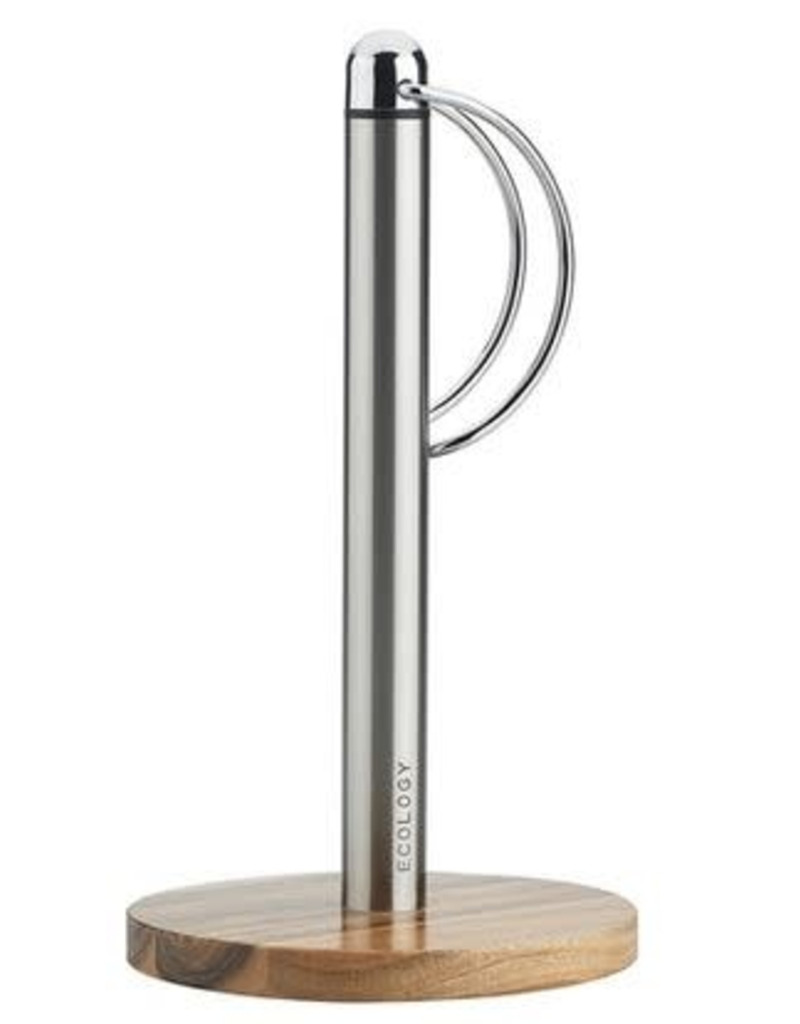 Ecology Ecology Provisions Stainless Steel & Acacia Wood Paper Towel Holder