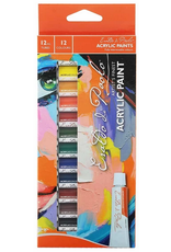 MM Acrylic Paint Set 12pc x 12ml