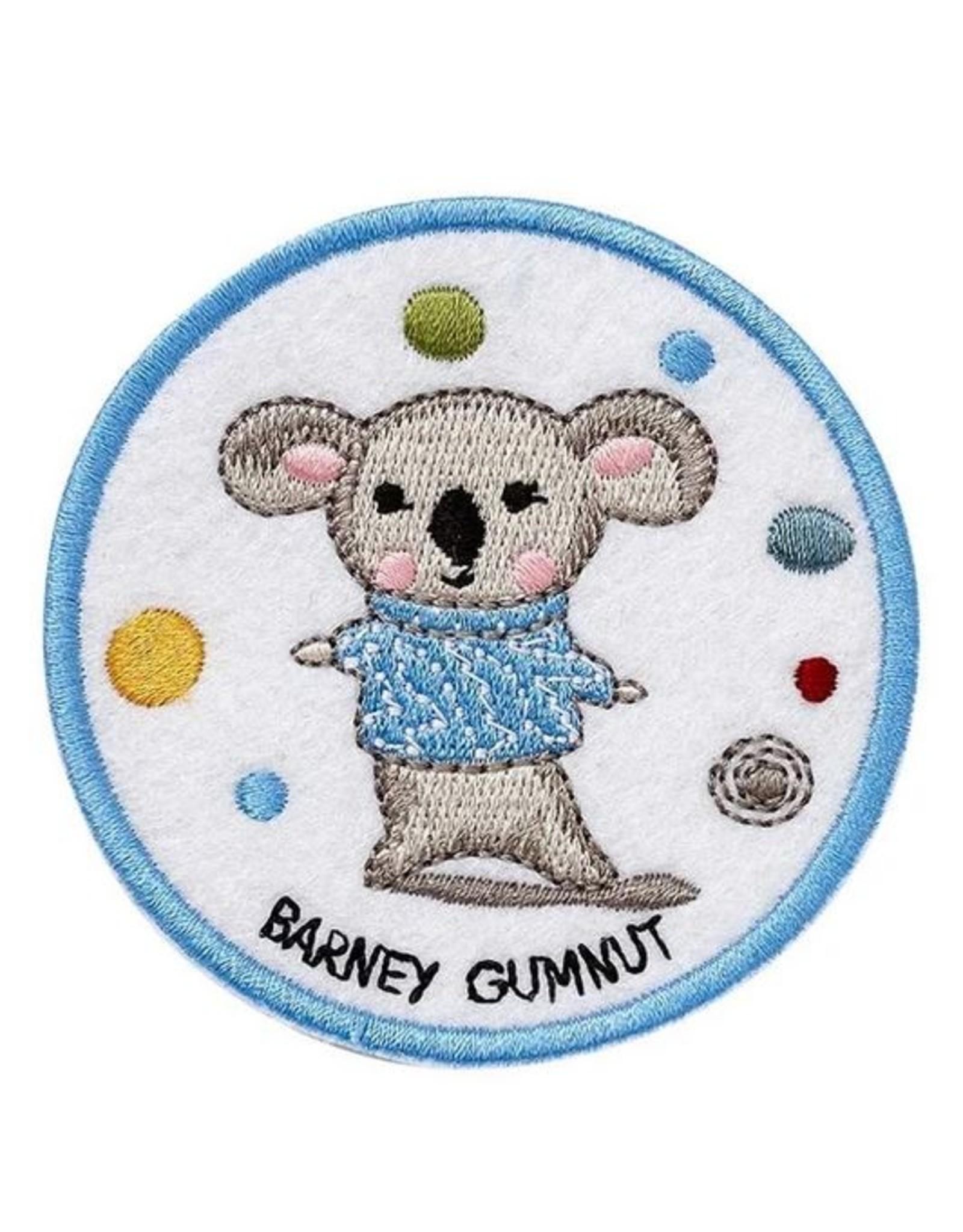 Ashdene Barney Gumnut & Friends Iron On Patch