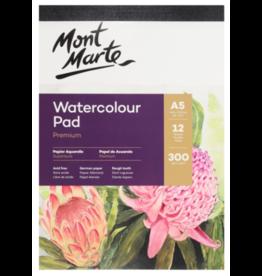 MM Watercolour Pad German Paper A5 300gsm 12sht