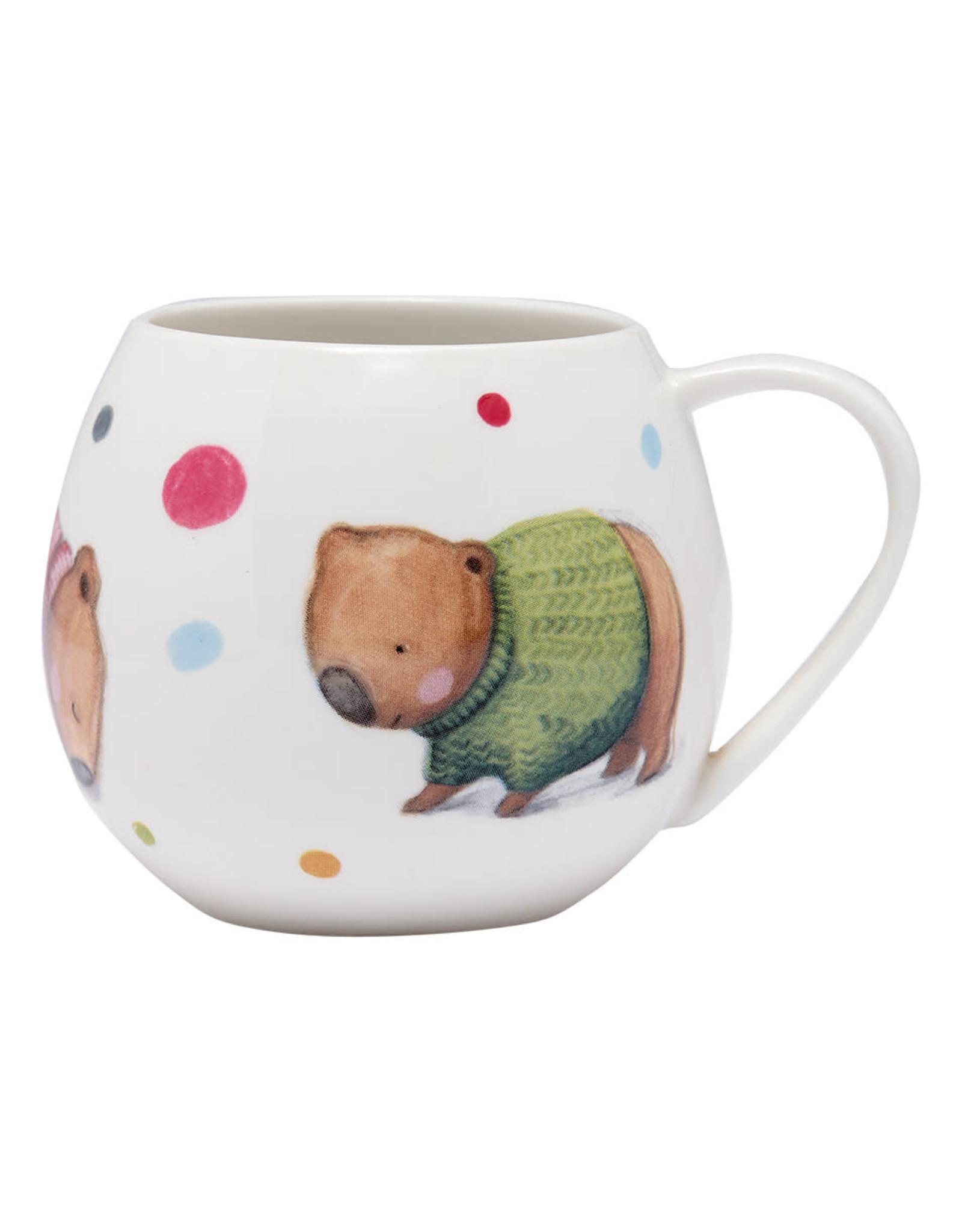 Ashdene Barney Gumnut & Friends Wombat Mug
