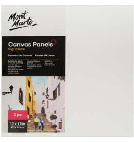 MM Canvas Panels Pack 2 30.5x30.5cm