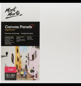 Mont Marte Mont Marte  Canvas Panels Pack 2 30.5x30.5cm