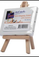 Mont Marte Mont Marte  Mini Display Easel w/Canvas 8x10cm