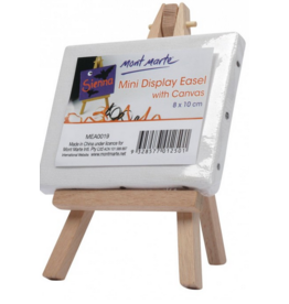 MM Mini Display Easel w/Canvas 8x10cm