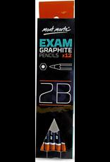 MM Exam Graphite Pencil 12pc - 2B