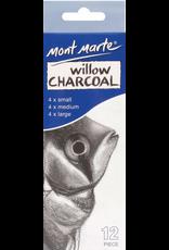 Mont Marte Mont Marte  Exam Charcoal Pencil 12pc - Soft