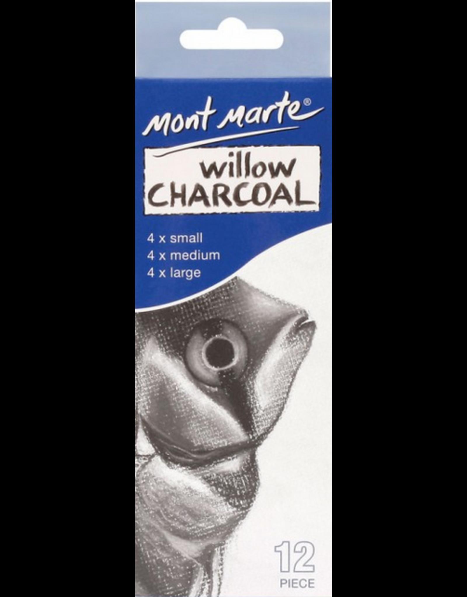 MM Exam Charcoal Pencil 12pc - Soft