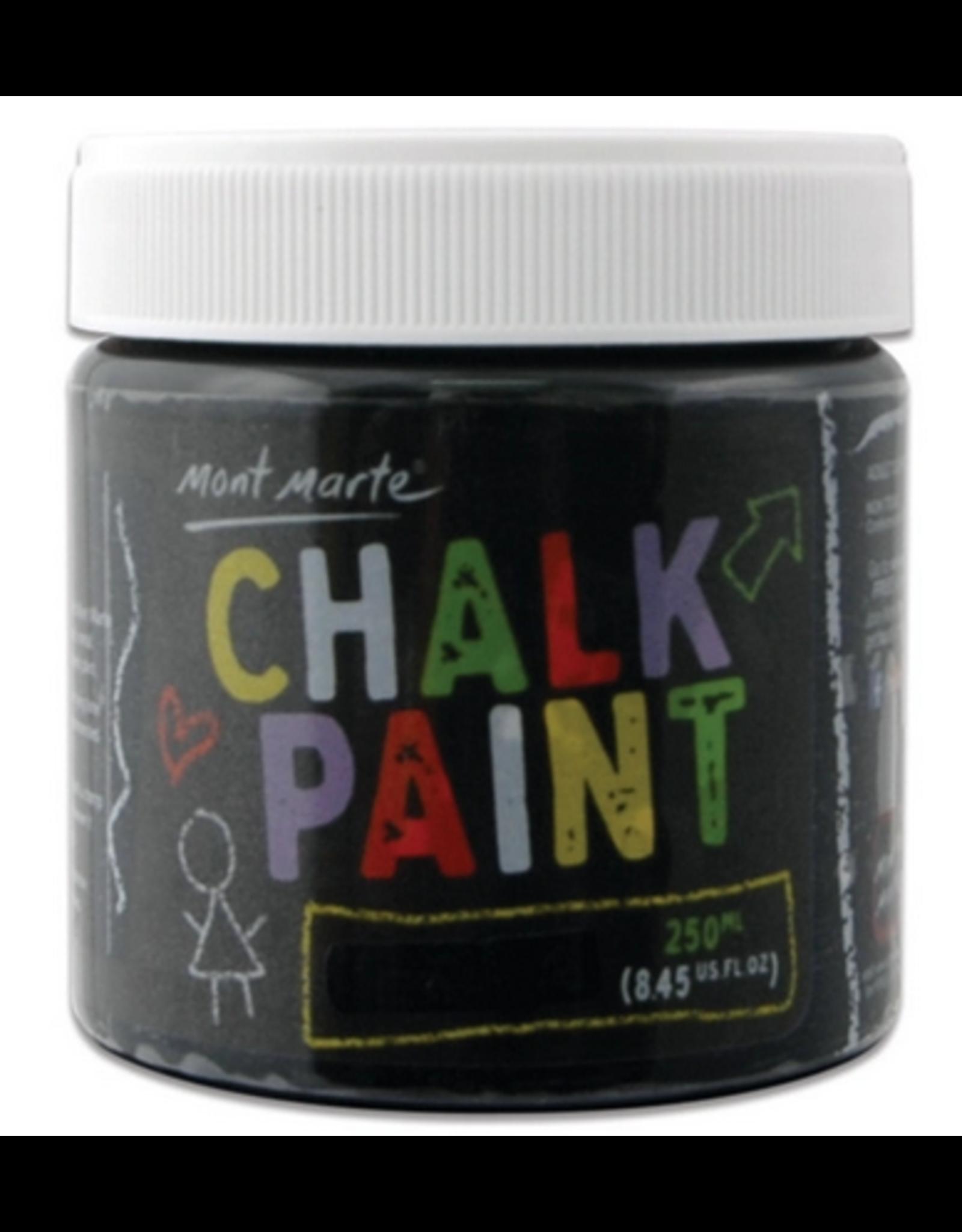 Mont Marte Mont Marte  Chalkboard Paint 250ml - Black
