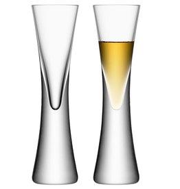 LSA Clear Moya Liqueur Glasses (Set of 2)
