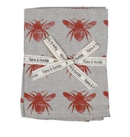 Raine & Humble Set of 4 Honey Bee Napkins in Asssorted Colours