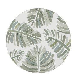 Amalfi Tropical Palm Cork Hardback Placemats Set of 4