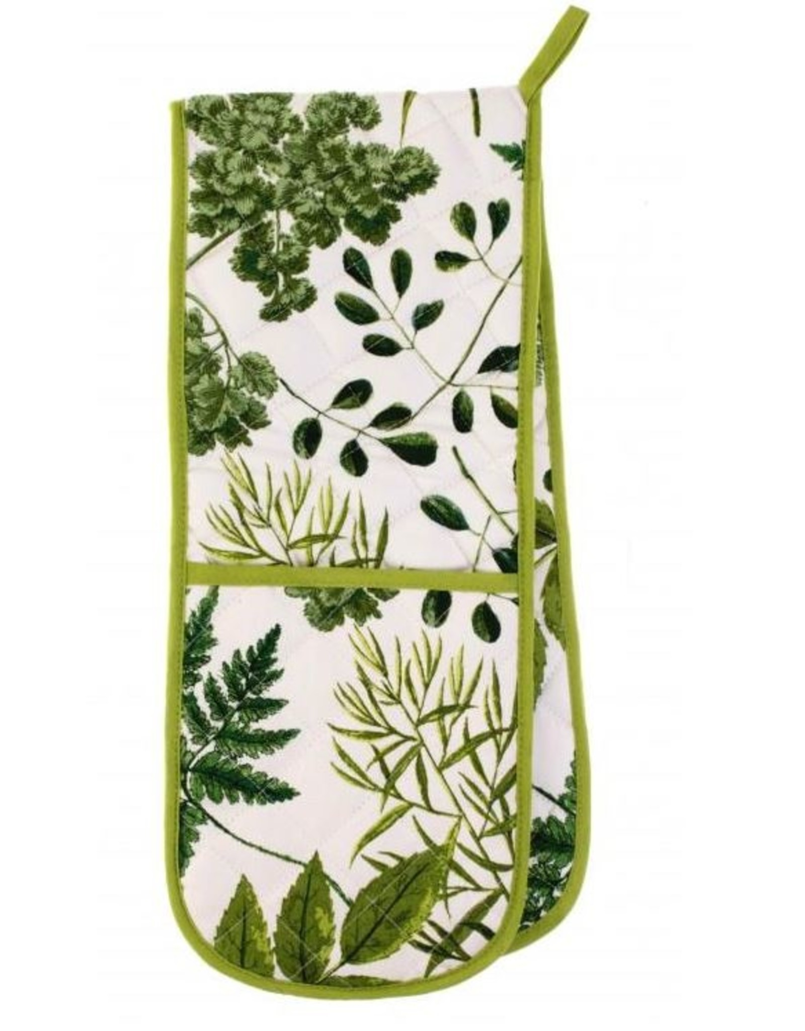 Ulster Weavers RHS Foliage Dbl Oven Glove 88x18cm