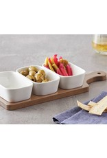 Davis & Waddell Loft Dish Set/3 on Paddle 35x13x5.5cm