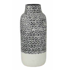Amalfi Issey Vase Black and White
