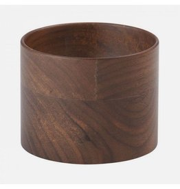 CrushGrind Florence Walnut Pinch Bowl