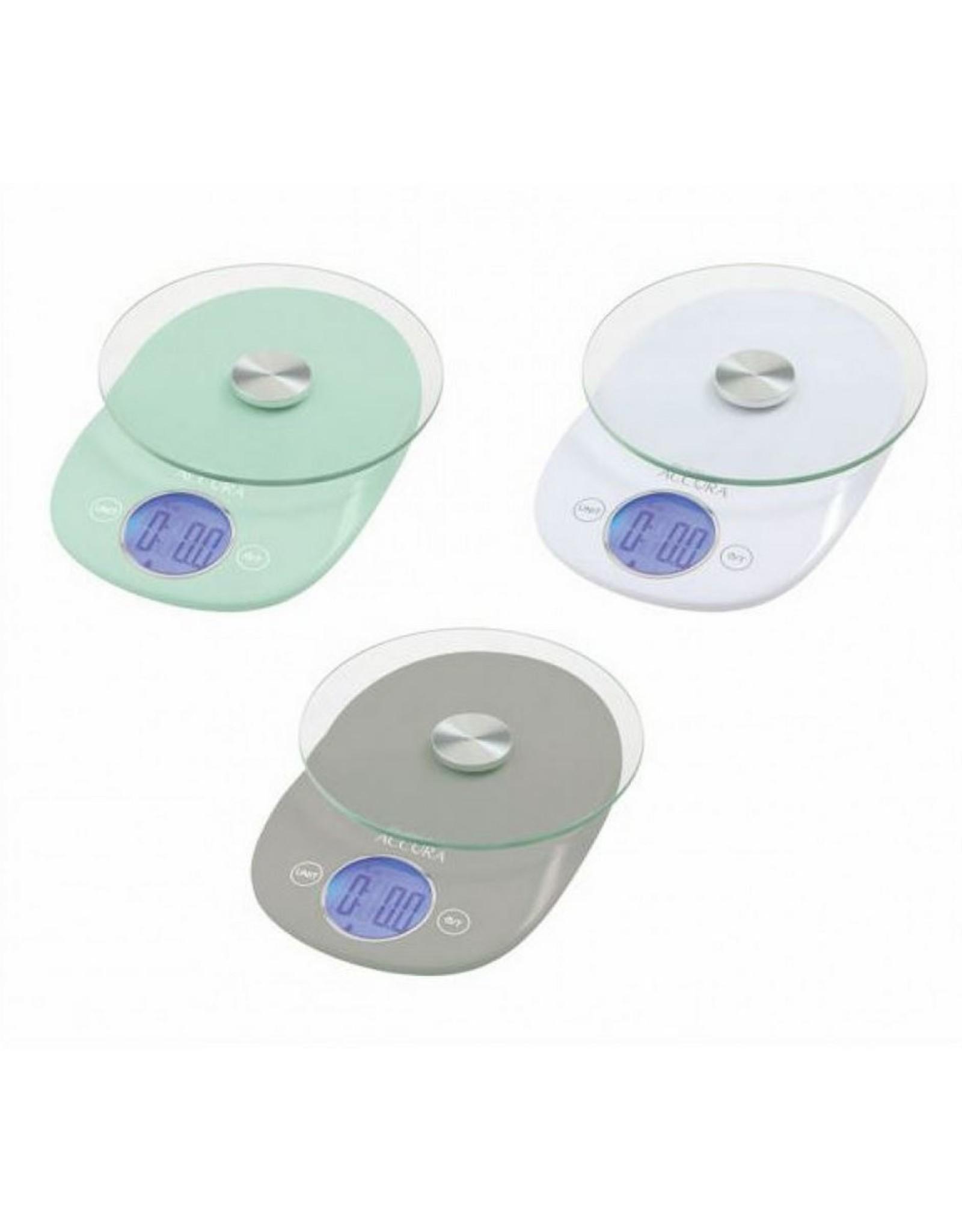 Accura Clio Glass Elect Scale Assorted Colours