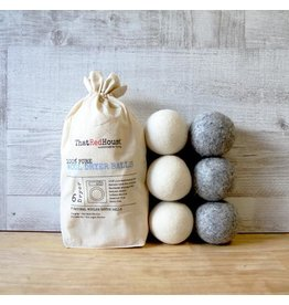 That Red House Wool Dryer Balls 6pk