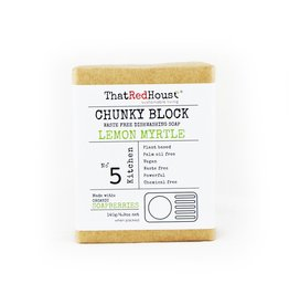 That Red House Chunky Block Lemon Myrtle Household Soap