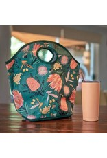 Lunch Bag Australian Flora Khaki