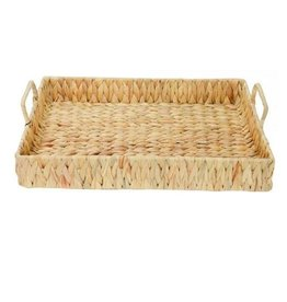 Water Hyacinth Picnic Tray Large