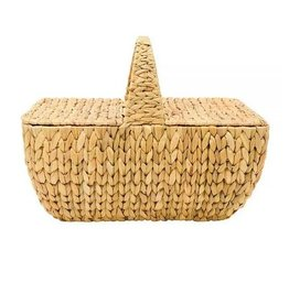 Water Hyacinth Picnic Hamper