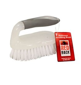 Red Back Bathroom Scrubbing Brush