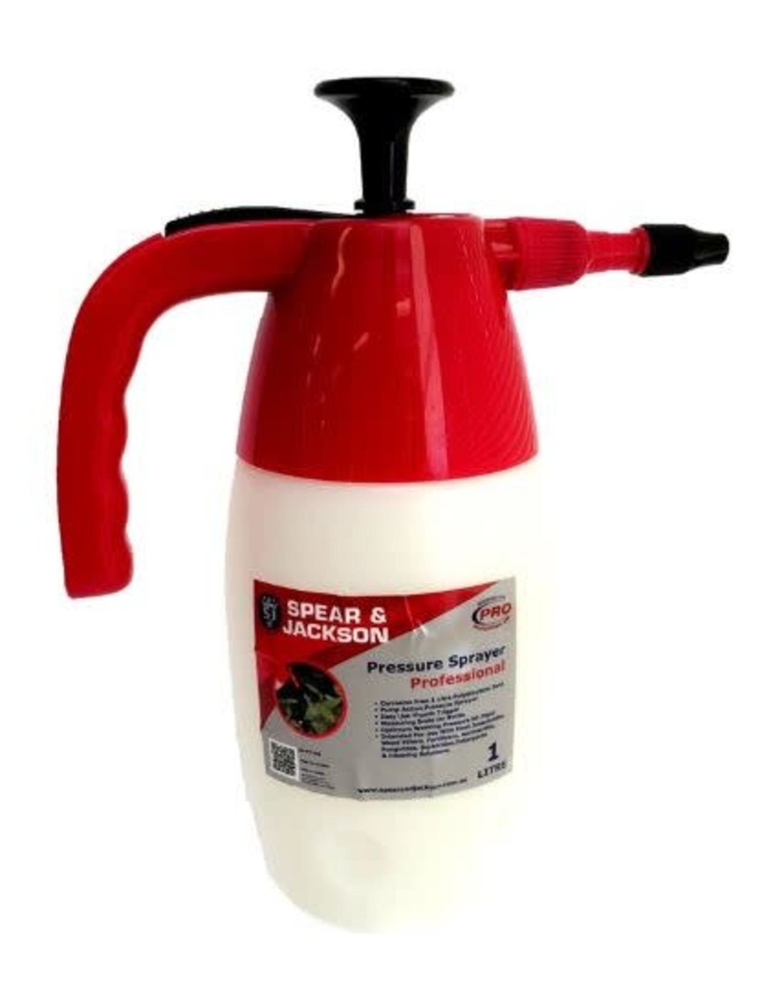Spear & Jackson Pressure Sprayer 1 ltr