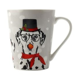 Maxwell & Williams Gift Boxed 400ml Dalmation Christmas Mug
